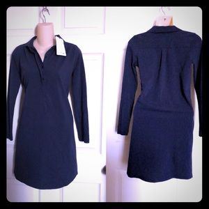 NWT LACOSTE Navy Polo Dress